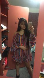 Cold Shoulder multicolor vestido Reviews