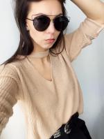 Black Crossbar Pilot Sunglasses Reviews