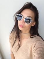 Crossbar Cut Out Irregular Sunglasses Reviews