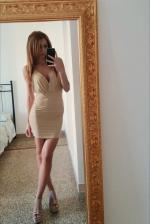 Women Spaghetti Strap Backless Club Dress Reviews - Khaki S