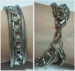 Punk Style Multilayered Bracelet Reviews