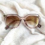 Alta en punta del zigzag de la pierna gafas de sol del ojo de gato Reviews