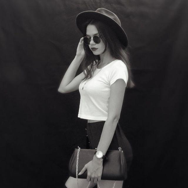 Very much like this set of hat and this bag, black my favorite ~~  do you like ?