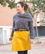 A Line PU Leather Mini Skirt Reviews