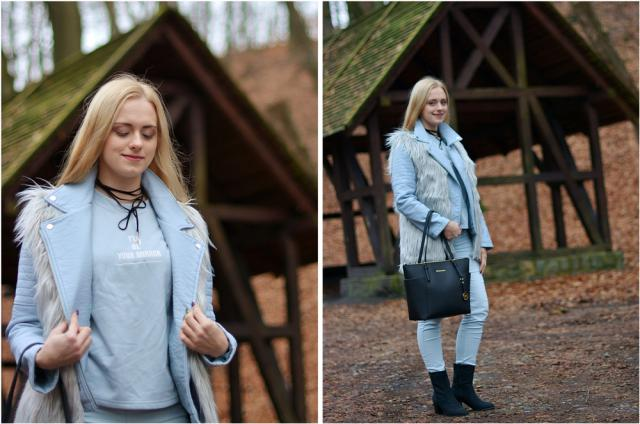 This items are so cool - fur waistcoat and sweatshirt - good quality and they are really stylish! #zmesday00
