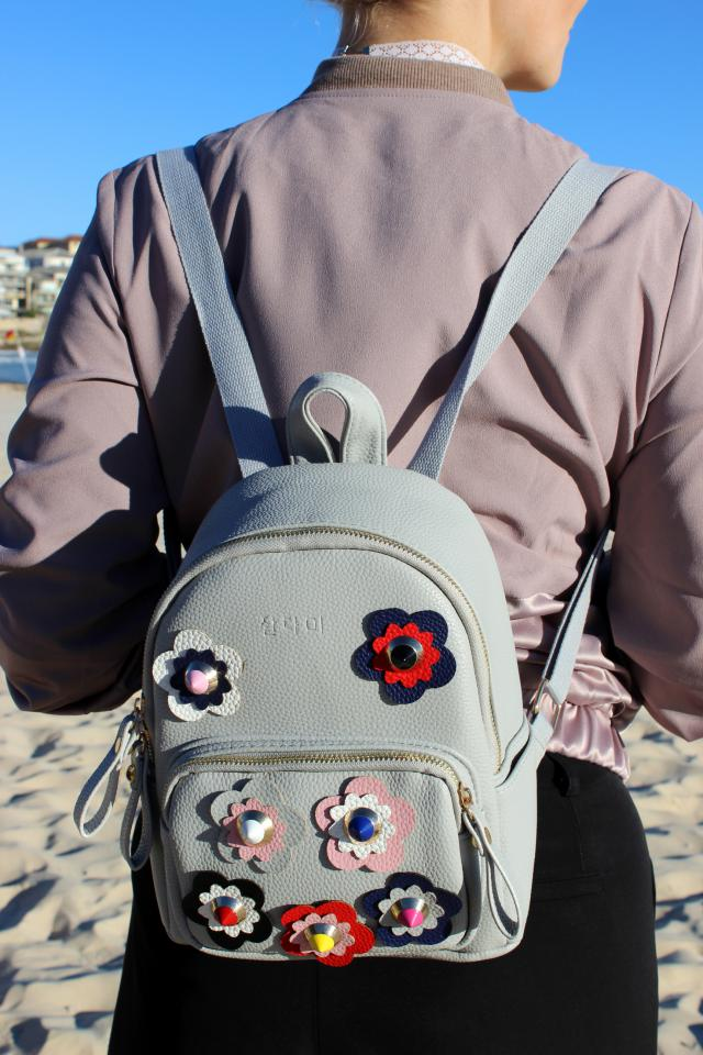 My new favourite mini statement backpack. :) #embelished #statement #mini #backpack  blog: