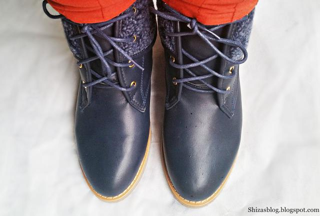 These Flat Heel Lace-Up  Boots are just a treat for me in this winter.Super comfy and warm.And I am so excited to be the