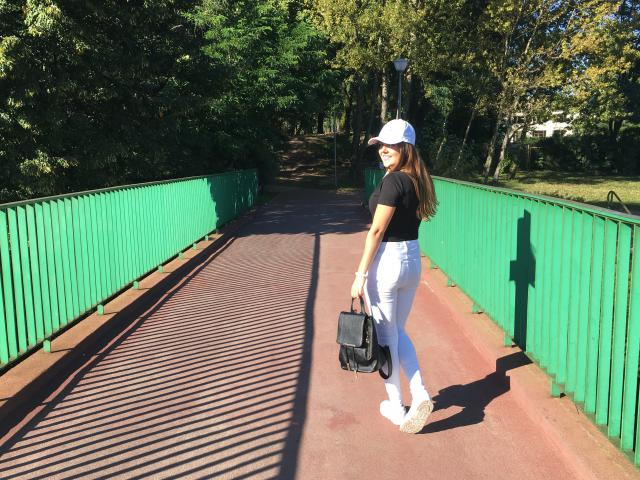 Love this casual and modern look with connection black and white. I think that my outfit is perfet for everyday look to