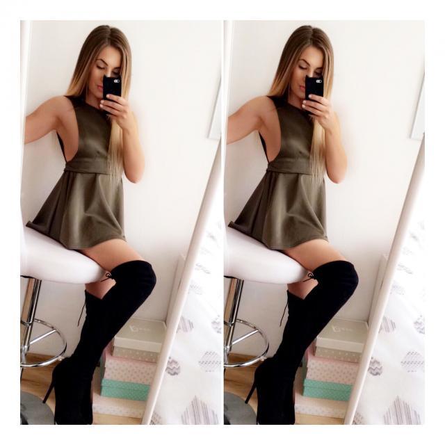 Hi❤️! I'm Dominika Adrianna. I love Fashion and make Up