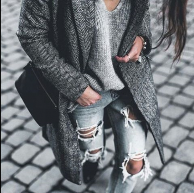 #zmesday00 Casual outfit love the coat #fashion