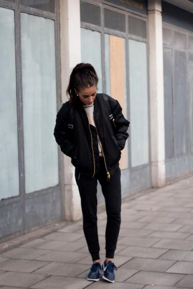 My favourite trend this fall: bomber jackets!