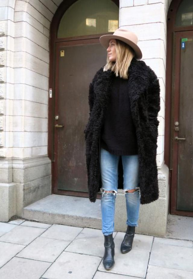 I definitely love the faux fur trend!