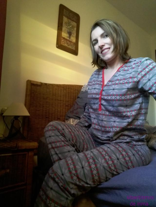 #zmesday00 A beautiful pajamas, perfect size, and very nice for the winter