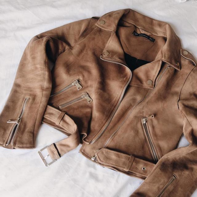 Suede Jacket from Zaful!