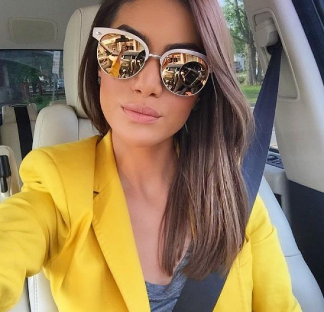 Yellow blazer for a pop of color :)