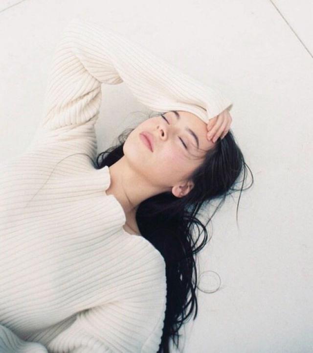 Pretty white sweater