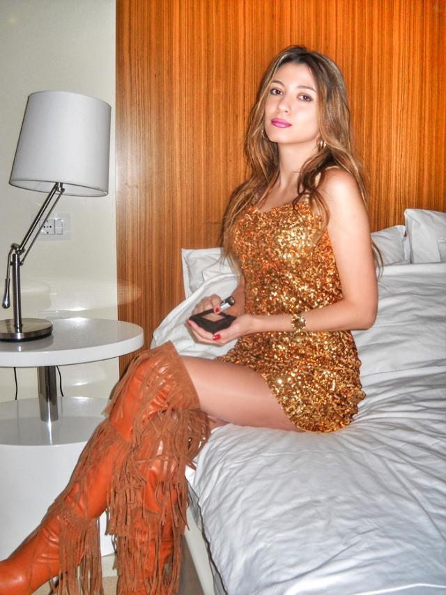 Magic night and amazing dress :)