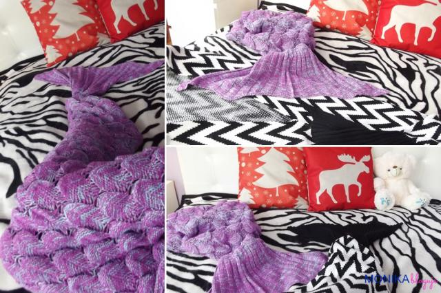 Like a mermaid... <3 #mermaid #mermaidblanket #blanket