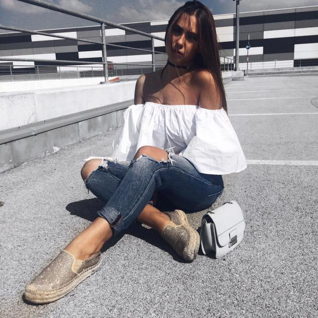 Off shoulder blouse from Zaful!