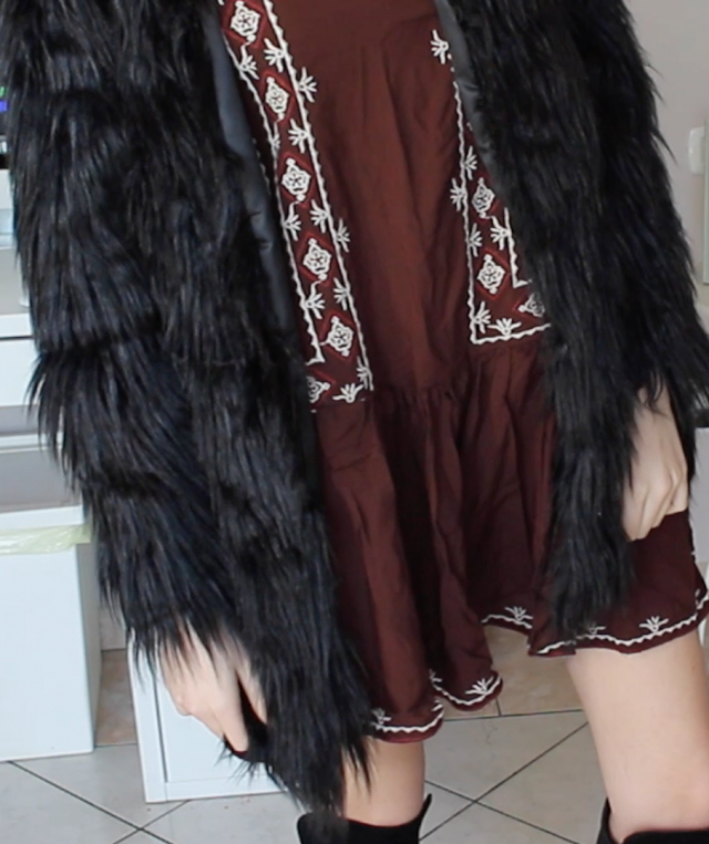 Bohemian-inspired outfit! If you want to see my lookbook on Youtube, here\'s the link: