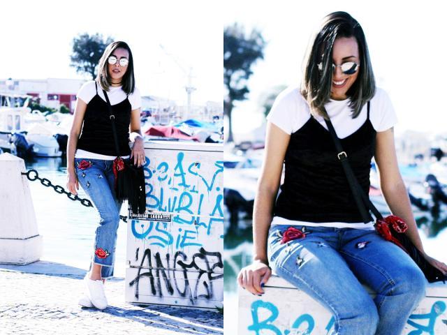 Embroydered Denin fever #ootd #blogged #estiloaqualquercusto