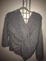 Fluffy Twisted Chenille Sweater Reviews - Size One