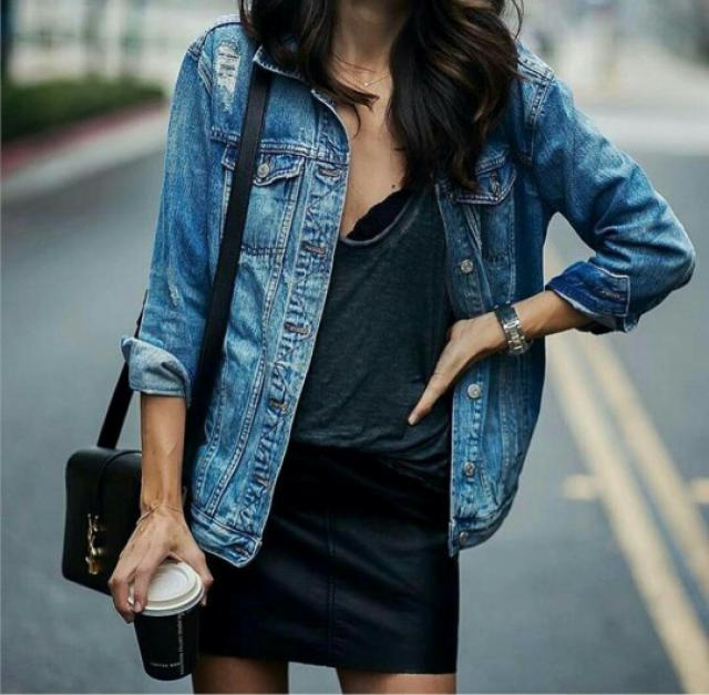 love this cool denim jacket