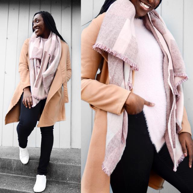 Blush Tones #Zaful #WinterFashion #Streetstyle