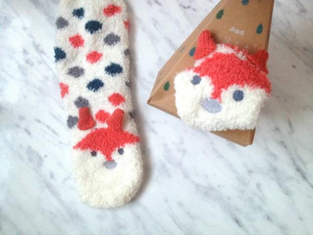 Lovely fox- socks :D :P