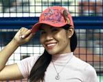 Rattan Butterfly Embroidery Baseball Hat Reviews  Red