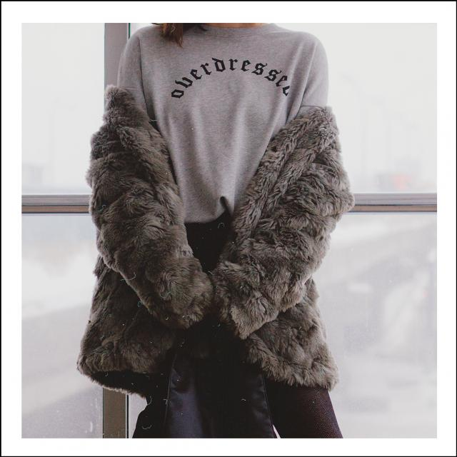 """You can never be overdressed & overeducated\"" Oscar Wilde. Well, it\'s true but this sweatshirt tells"