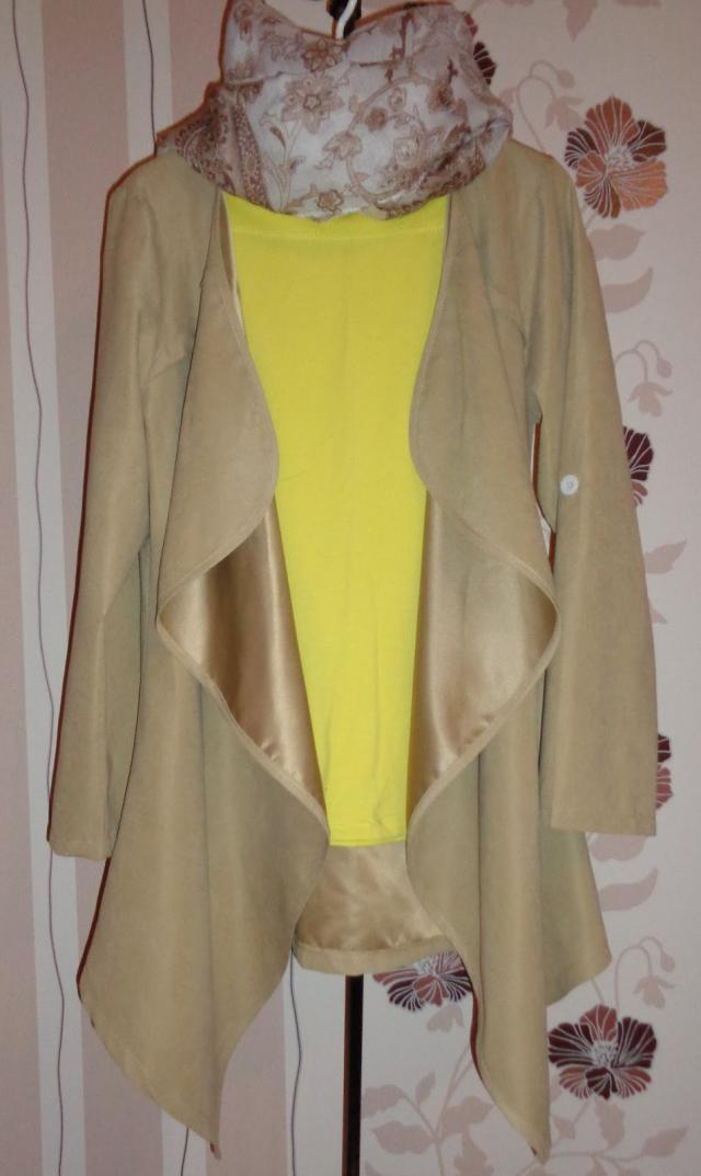 Light cape - coat spring