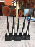 5 piezas de cepillos de dientes Cepillos Forma maquillaje con Holder Reviews  Black