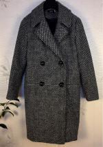 Fitting abrigo de lana de cuadros Reviews