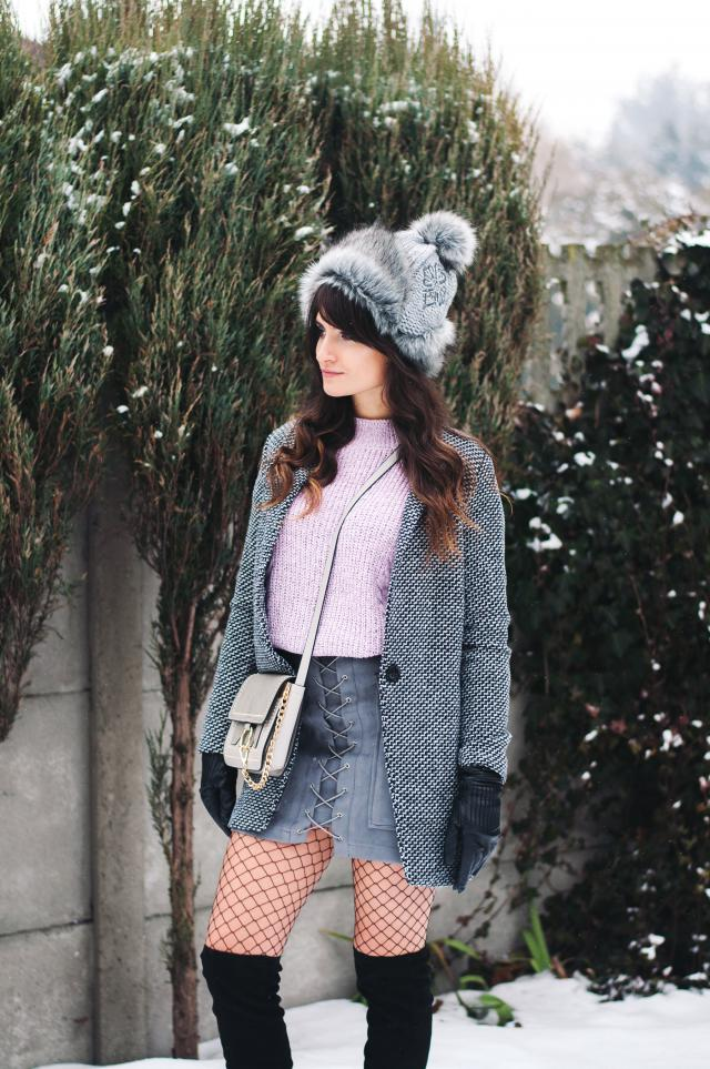 #OOTD Amazing gray outfit :) Check it