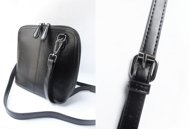 #Zaful Buckle Zipper Solid Crossbody Bag is a day wear versatile bag that goes with both classy and sporty looks,