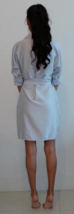Crossover Wrap Shirt Dress Reviews