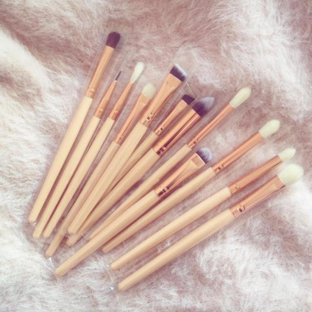 Beautiful brushes <3 #makeup #brushes #makeuptools