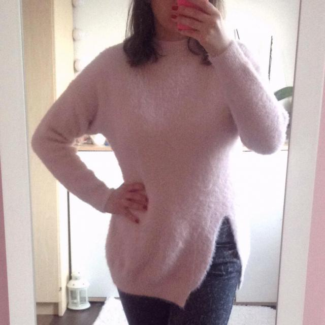 Fluffy sweater :) #sweater #fashion #zafulfashion