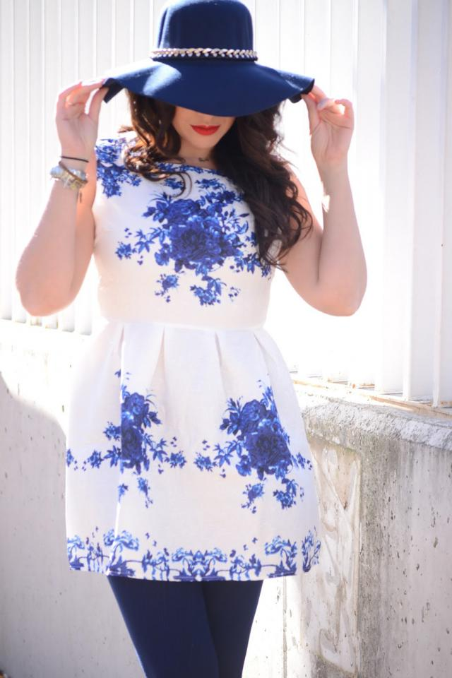 special dress for special moments! #zme #zafulgirl #lady #bluelady #dress #ladydress
