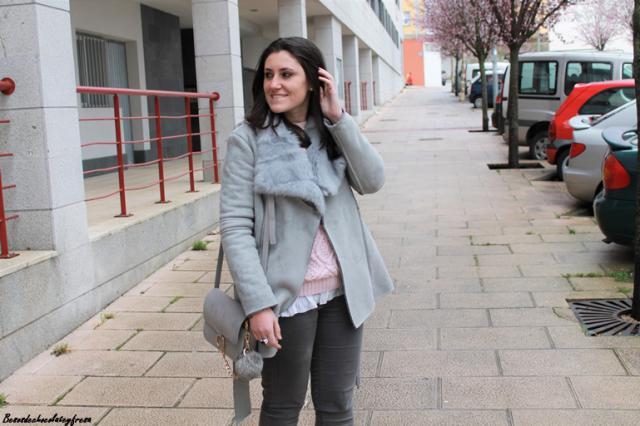 Gray coat #coat #gray #zaful