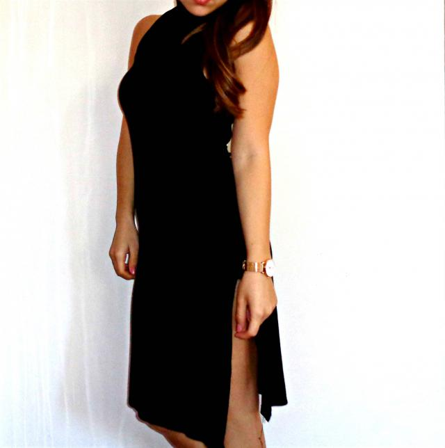 A little black dress is a must into woman\'s wardrobe! ;)