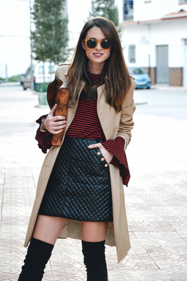 Zaful Skirt >> more details in >> lookfortime.blogspot.com