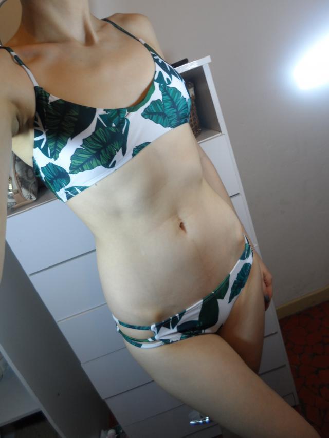 Palm Leaf print is the hottest #swimwear trend at the moment #summer #ttil #mfzi #swimsuit #travel2017 #loveselfie