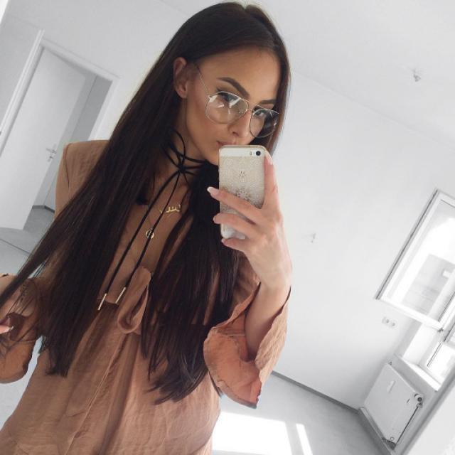 #TTIL Look this beautiful black choker ♥♥ #choker #blackchoker #necklace #beautiful #sexy #hot #model #baddie