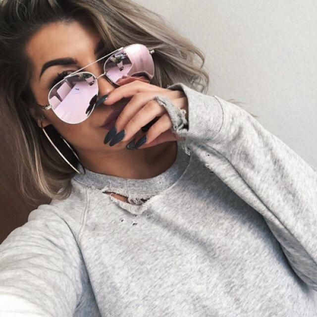 #TTIL OMG i\'m in love with this sunglasses!!!!♥♥♥♥♥ #sunglasses #rosegold #summer #spring #tropical #beach