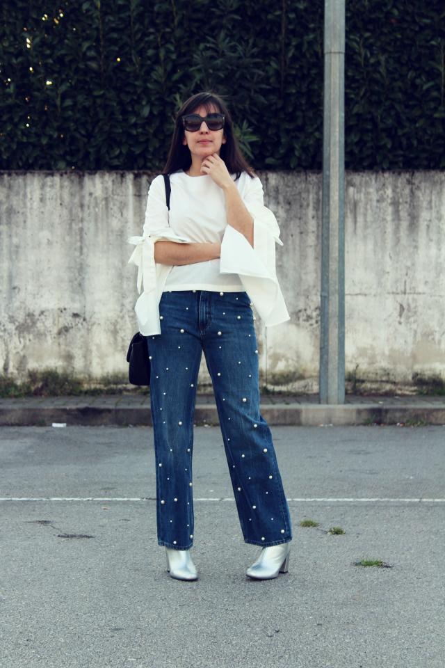 Blue jeans white shirt @zaful http://ritissimavida.blogspot.pt/2017/03/173-fancy-zaful.html