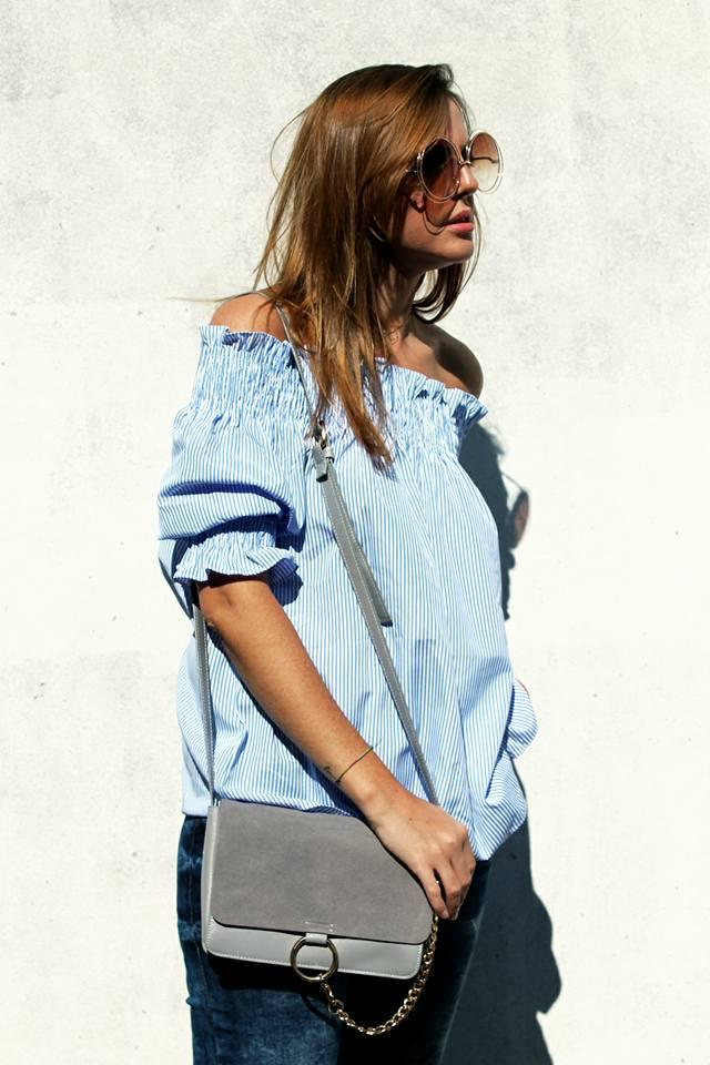 #zmesday00 #blouse #stripedblouse #stripes #offtheshoulder