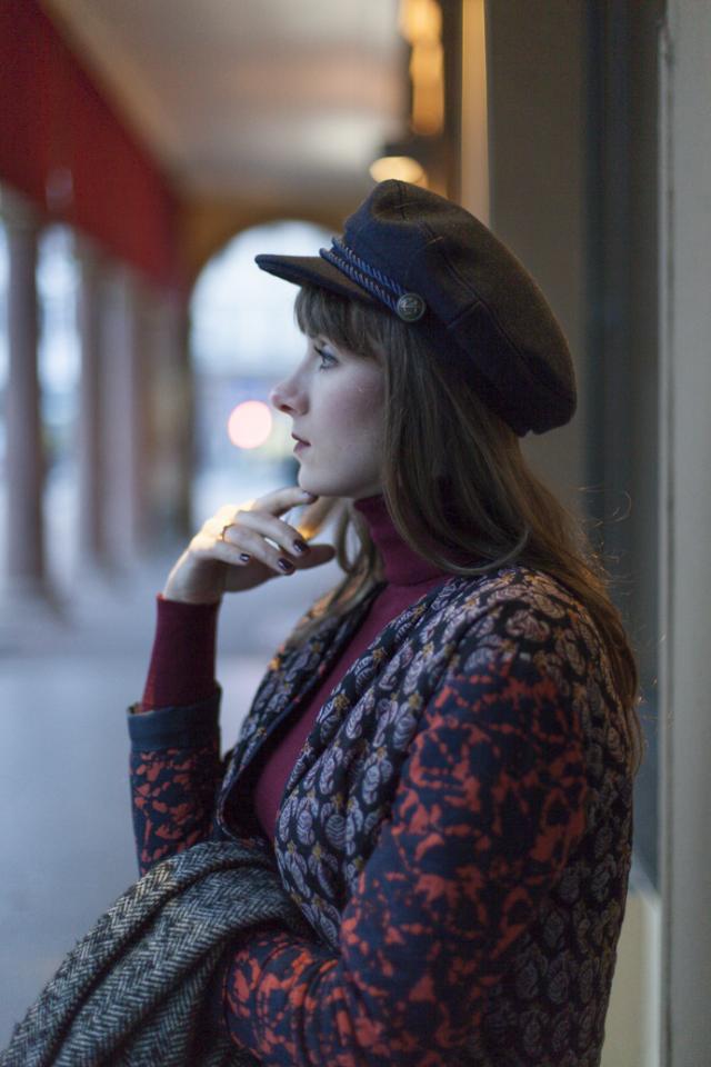 Gorgeous Zaful hat. Love it <3 http://www.tigerintheflowers.com/modne-akcesoria-kaszkiet-zaful/