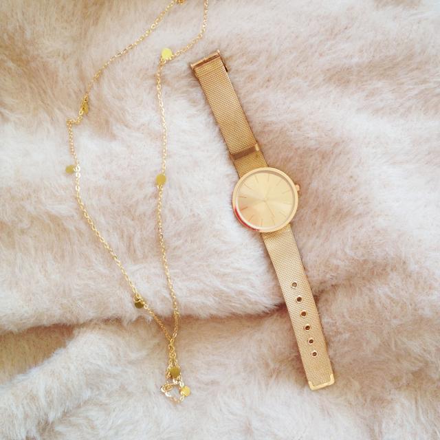 Zaful Watch and necklace :) #zaful #watch #lovezaful